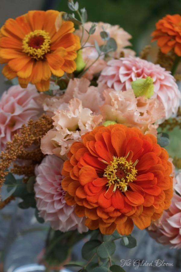 Pumpkin Spice Floral- www.gildedbloom.com