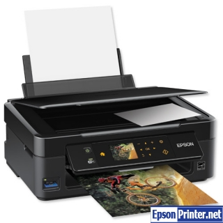 How to reset Epson SX445 printer