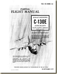 Lockheed C-130E Flight Manual (Partial)_01
