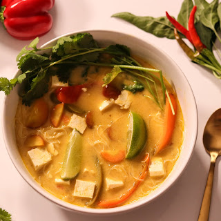 Vegetable Thai Soup.