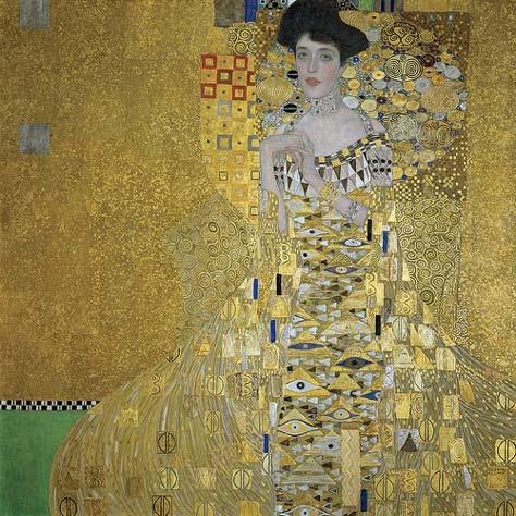 Retrato de Adele Bloch-Bauer de Klimt