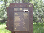 Paseo del Lobo makes its way along the Arizona Trail (Photo by C. Davis)