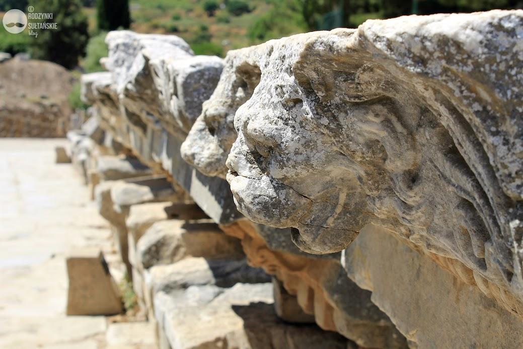 Efez, detal z Ulicy Marmurowej.