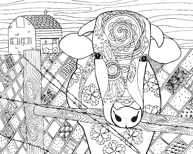 Free Coloring Pages Adults Art And Abstract Category Image  In Post At  May