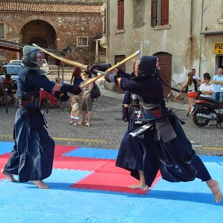 Manifestazione in P.zza Corrubbio - Verona