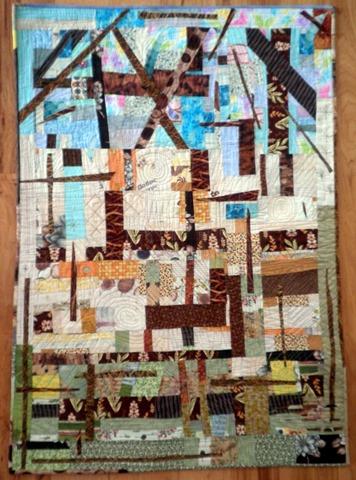 Barn Bones Quilt by Kim Lapacek