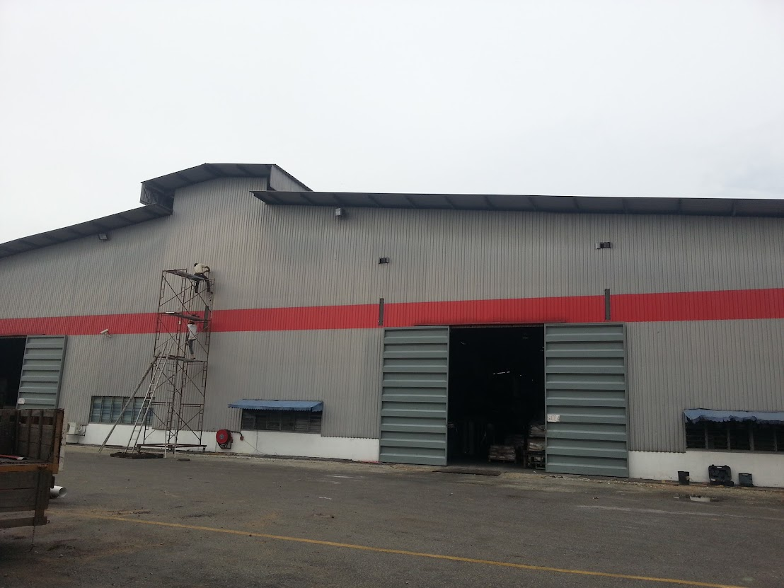 External Of Factory Before Install Awning