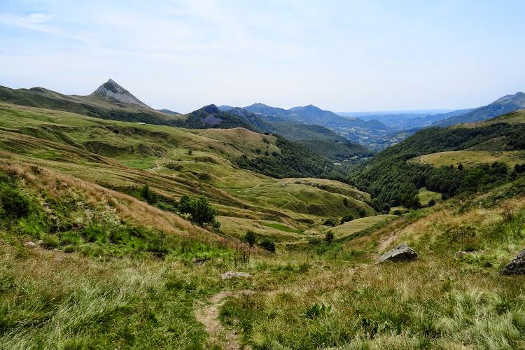 Le Cantal à pied - Le Puy Griou et le Cirque de Mandailles