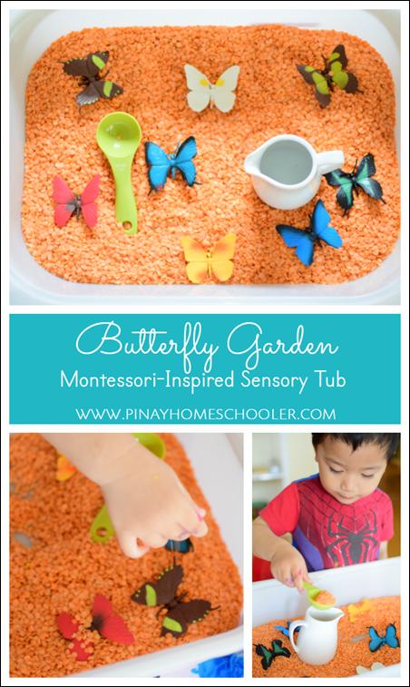Butterfly Garden Tub
