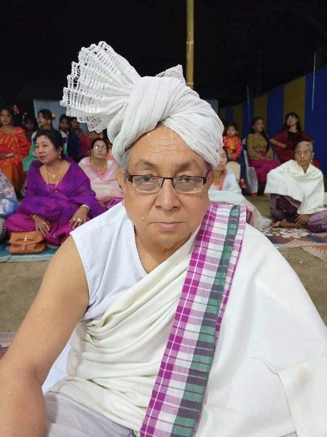 মনিপুরী সাহিত্য পব়িষদ, জিব়িবামগী মতম শাংনা থৌ পুরম্বা অব়িবম গৌব়মণি শৰ্ম্মা লৈখিদ্রে