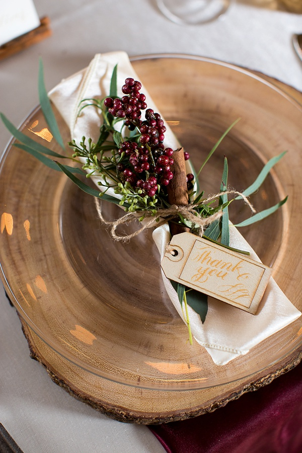 Rustic Winter Wedding Decor Inspiration | Tidewater and ...