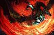 Dark Knight On Dragon