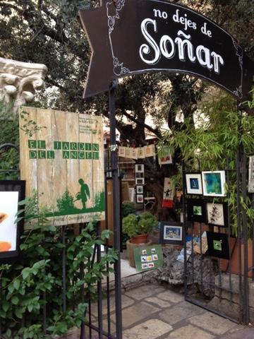 Lun ticas por madrid el jard n del ngel for Cafe el jardin madrid