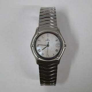 Ebel Stainless Steel Ladies Watch