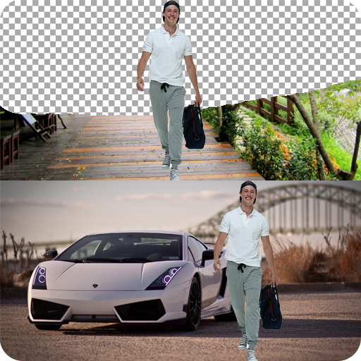 Car Background Selfie