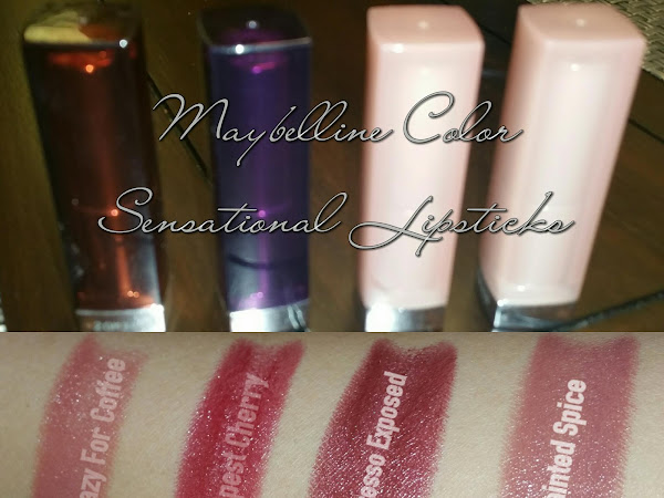 CVS Haul: Maybelline Color Sensational Lippies & e.l.f Blush Palettes