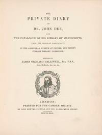 Cover of John Dee's Book The Private Diary of Dr John Dee