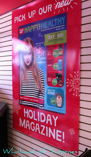Taylor Swift Happy and Healthy at Duane Reade