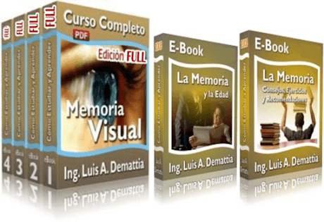 MEMORIA VISUAL, Ing. Luis Demattia [ Curso ] – Descubra las técnicas secretas para memorizar grandes volúmenes de información