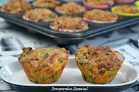 Eggless Veggie Muffins