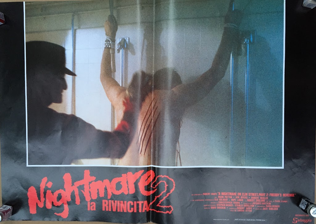 Italian Lobby card Nightmare 2 1 of 6  26x19 #1
