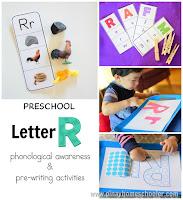 Preschool Letter R