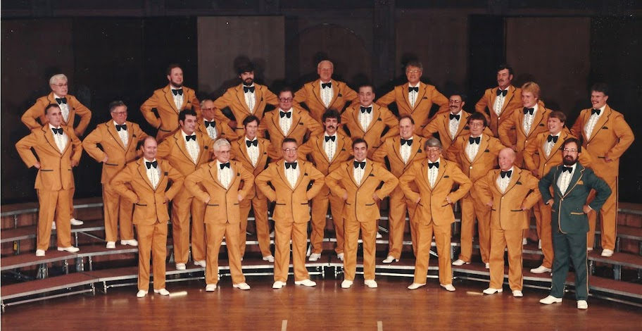 The Syd Pyper Cup Winners 1984/85 Ontario District Chorus Champion