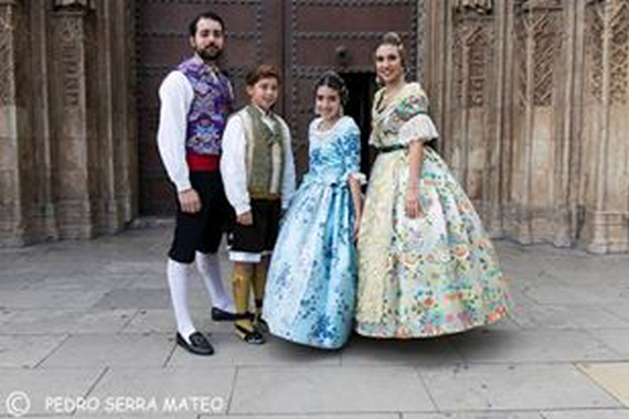 Exaltación de las Falleras Mayores de Barón de Patraix-Cuenca