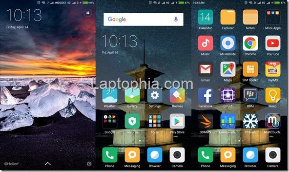 Software & Fitur Xiaomi Mi5