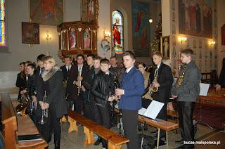 Koncert Orkiestry Okulickiej oraz Chóru Parafialnego z Bucza