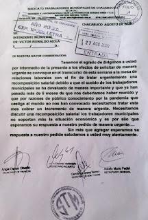Sindicato de Trabajadores Municipales de Chacabuco