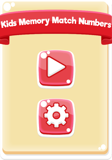 Kids Memory Match Numbers Free