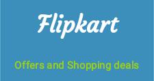 Flipkart latest shopping deals and cashback offer