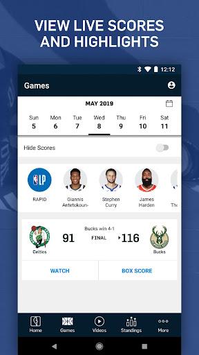 NBA: Live Games & Scores 10.0313 screenshots 6