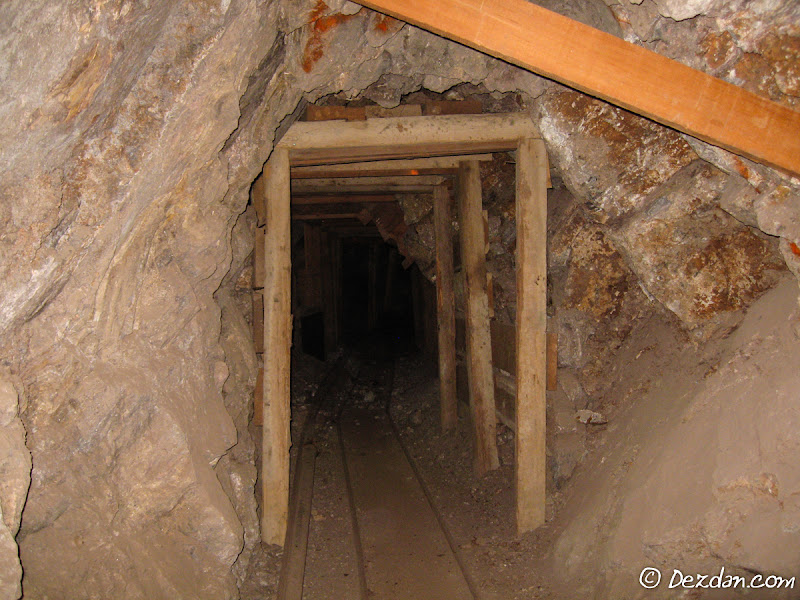 Heading deeper into the mine.
