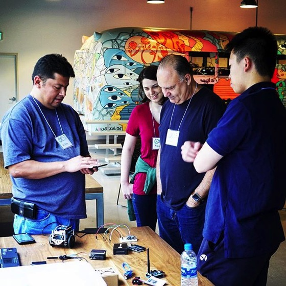 Talking About Arduino - Arduino Day LA 2018 via My Instagram