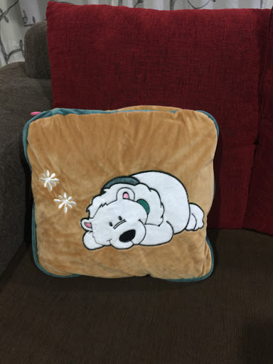 Animal Pillow Blanket Inside : 2 in1 multi-function plush blanket (end 11/26/2017 12:29 PM)