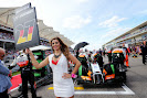 Grid girl for Nico Hulkenberg, Force India F1 VJM07