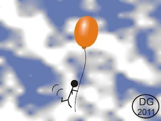 Xatoo e o Balão (ilustração)
