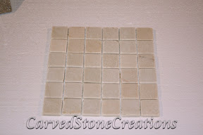 2x2, Flooring, Flooring & Mosaics, Interior, Mosaic, Natural, Quartzite, Stone, Tile, Tumbled, White