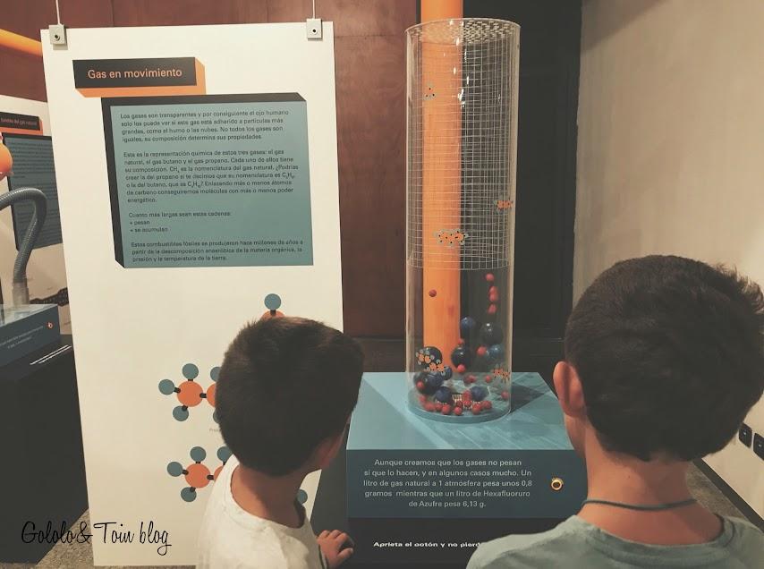 Exposición de ciencias en Casa de la ciencias de Logroño