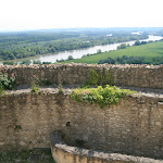 Donjon : vue sur la Seine