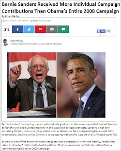 20160412_1259 Bernie Sanders Received More Individual Campaign Contributions Than Obama (HuffPost).jpg