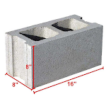 Blocks Calculator (Quantity Of Blocks) Icon