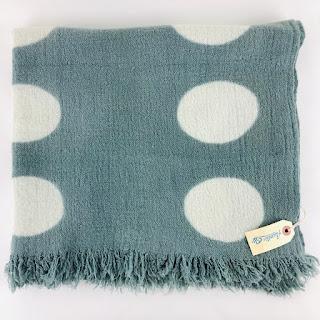 John Derian Polka Dot Grey Textile