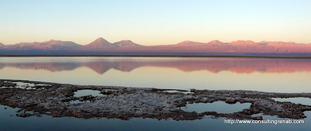 Very pretty - Laguna Tebenquiche at sunset