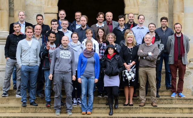 Group picture at the meeting in Oxford 2013