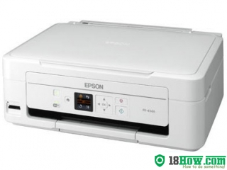 How to reset flashing lights for Epson PX-434A printer