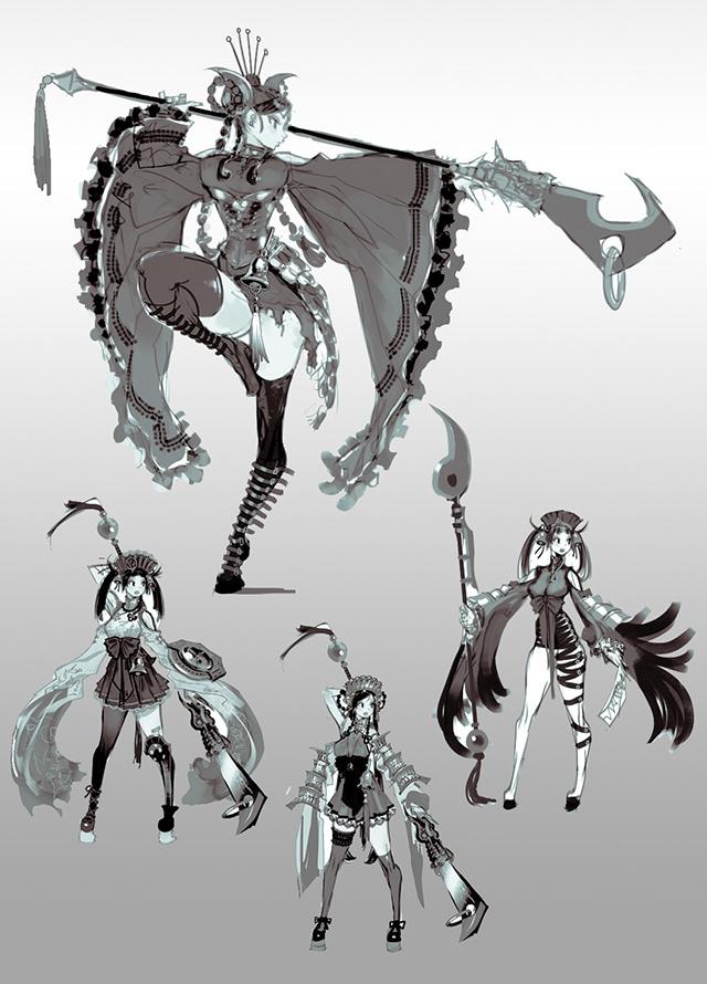 Ngắm tạo hình nhân vật Lynn trong Mabinogi Heroes - Ảnh 3