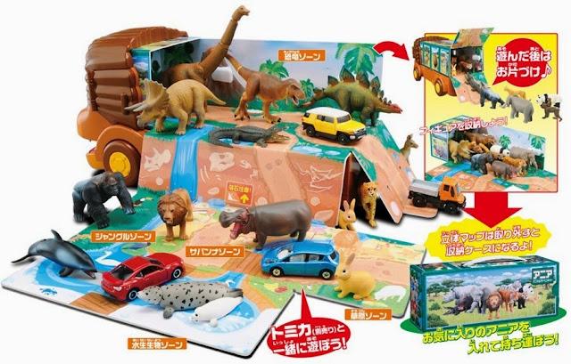 Xe hình sư tử Lion Bus chở động vật Ania mở ra 1 vườn thú lưu động